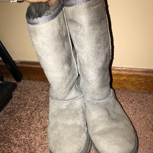 Grey Tall uggs! Size 5!
